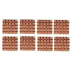 Demiawaking 8pcs Copper Heatsink Adhesive Back Rhs-03 For Vga Gpu Memory Cooling