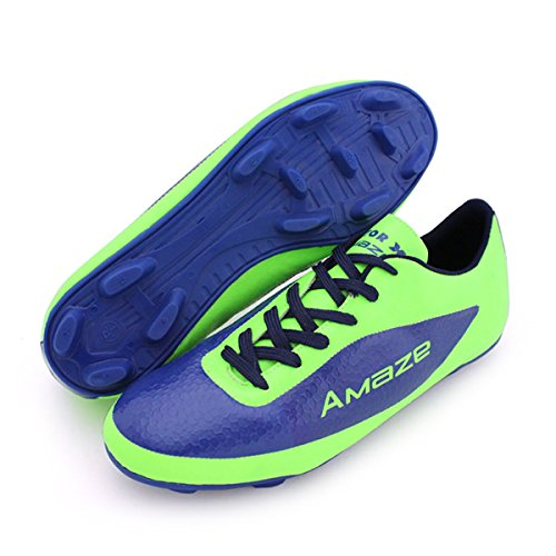 Vector X Amaze 001 Football Shoes, Men's UK 7 (Green/Blue)