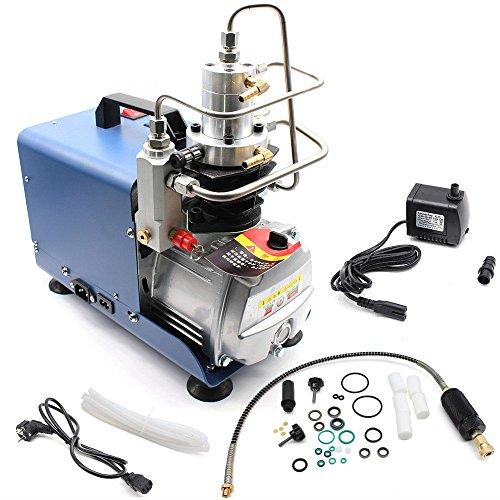 Bomba neumática alta presión 30 MPa 4500psi Bomba de aire comprimido alta presión para inflar Bomba PCP inflador neumático escopeta de aire comprimido y neumáticos para bicicletas