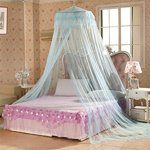 cheers-online-round-polyester-curtain-dome-bed-canopy-netting-princess-mosquito-net-blue