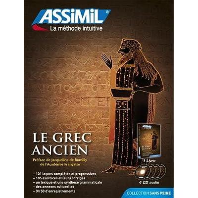 Le Grec Ancien (livre+4 CD audio)