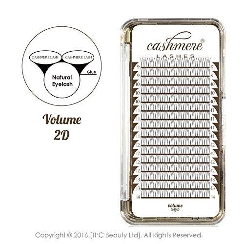 CASHMERE LASHES® 2d Rusia volumen pestañas abanicos