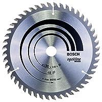 Bosch - Optiline Serisi Ahşap İçin Daire Testere Bıçağı - 190 X 20/16 X 2,6 Mm, 48 Diş