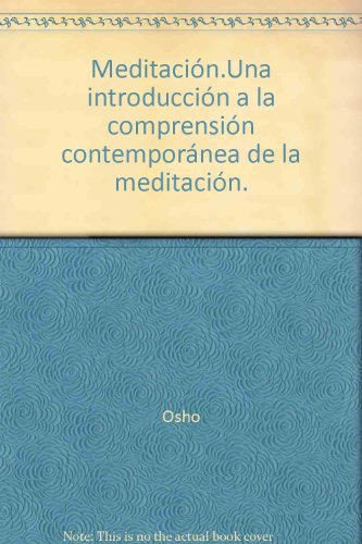 Descargar Libro Meditacion de Osho