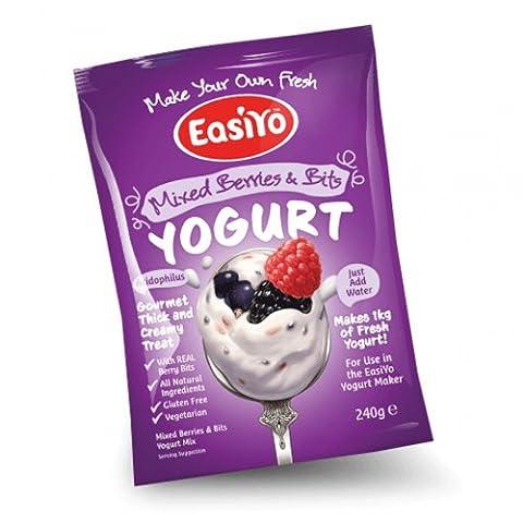 Easiyo Premium Yoghurts Full Range Mixed Berries & Bits