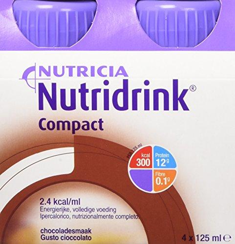 Nutricia Nutridrink Compact Integratore Alimentare Gusto Cioccolato 4 X 125  Ml