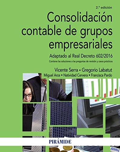 Consolidación contable de grupos empresariales (Economía Y Empresa)