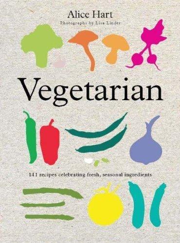 Portada del libro Vegetarian by Alice Hart (2011-06-01)