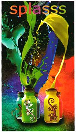 comprar Miracle Home Toalla Microfibra Playa Colores splass, 75 x 145 cm