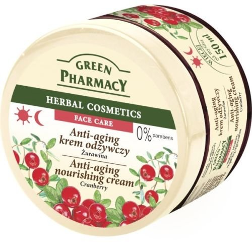 Green Pharmacy Anti- Age Cranberry Tagescreme 150 ml ohne Parabenen