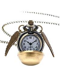 Inception Pro Infinite Collar con Reloj de Bolsillo - Harry Magician - Steampunk - Reloj de Bolsillo
