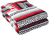 Best Yoga Direct Blankets - YogaDirect Deluxe Mexican Yoga Blanket, Red Review