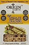 Origin Earth Omega 3 and Chia Seed Cracker 150 g (Pack of 5)