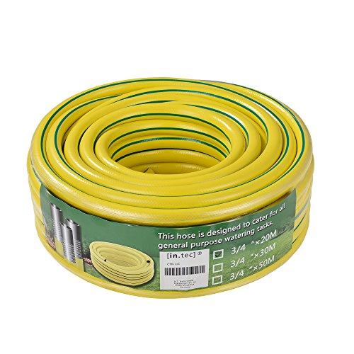[in.tec]® PVC-Wasserschlauch 3-lagig (Länge) 20m (Ø) 3/4\'\'