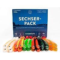 Set 12 x Gummifische RELAX Twister 1`` Doppelschwanz 4 cm Shad,Raubfischangeln