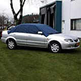 Carpoint Car Top Cover large Water Resistant Polyester Ice Frost Snow 100% Polyester Coating