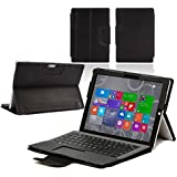 Housse étui conçu spécialement pour Microsoft Surface Pro 4 (noir)