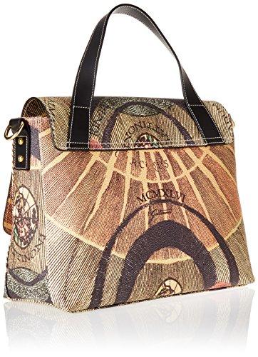 Gattinoni Gacpu0000110, Borsa a Mano Donna, 17x27x35 cm (W x H x L) Multicolore (Classico)