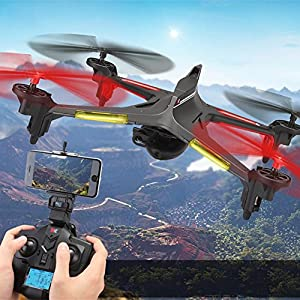 oofay Drone with Camera X250 Remote Control Quadcopter Four-Way Six-Axis Gyroscope Aircraft Image Transmission