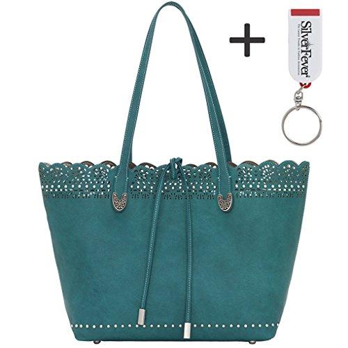 banadana-from-american-westetop-handle-bags-sacchetto-donna-turchese-turquoise-taglia-unica