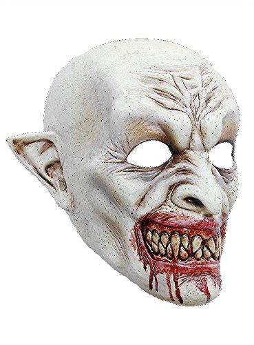 Halloween Karneval Party Kostüm Dracula Maske des Grauens aus Latex für Erwachsene (Kostüm Erwachsene Dracula)