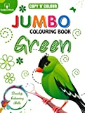 Best Golden Books Book Toddlers - Copy N Colour Jumbo Colouring Book - Green Review