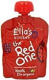 Ella's Kitchen Il Rosso Organici Frutta Frullato Schiacciata (5X90g)