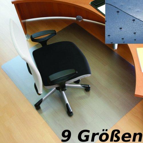 """RS Office Products Roll-o-Mat Bodenschutzmatte aus Makrolon® für Teppichböden, Form O, 120 x 180 cm, TÜV-Siegel + Umweltzeichen \""""Blauer Engel\"""""""