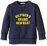 Tommy Hilfiger Jungen Sweatshirt BODI CN HWK L/S, Blau (Black Iris 002), 116 (Herstellergröße: 6)