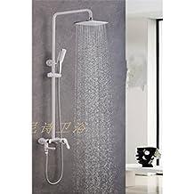 ZQ@QX Cu todos retro continental antiguo kit de duchas , Blanco