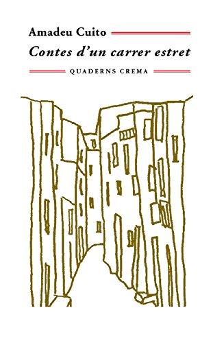 Portada del libro Contes d'un carrer estret (Biblioteca Mínima)