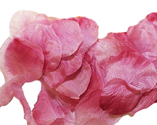 Accessori vari petali di rose in seta pz 288 (rosa antico)
