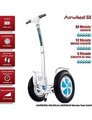AIRWHEEL S5Scooter eléctrica con permiso de circulación y TÜV pie Roller–Patinete Self Balance Ausstellung pieza (ligero marcas de uso)