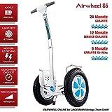 AIRWHEEL S5 Elektro-Scooter mit Straßenzulassung und TÜV. Self Balance Scooter. 24 Monate GARANTIE. 12 Monate GARANTIE-SERVICE! 6 Monate GARANTIE für Akku