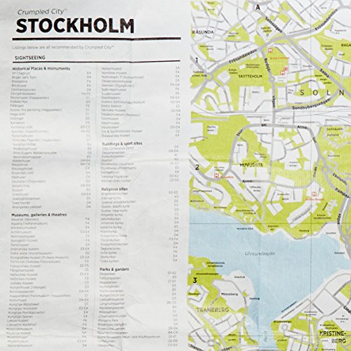 Stockholm Crumpled City Map (Crumpled City Maps): Alle Infos bei Amazon