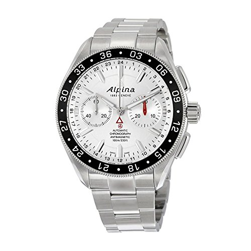Alpina Alpiner Chronograph 4 Automatic Stainless Steel Mens Watch AL 860S5AQ6B