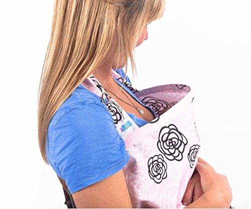 L'allattamento Al Seno Di Copertura, Scialle Di Assistenza Con Disossato Scollatura, Qualità 100% Grembiule In Cotone Traspirante Per L'alimentazione, Copre Il Bambino E La Mamma