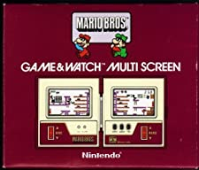 nintendo game and watch super mario bros. multi screen 1983 mw-56