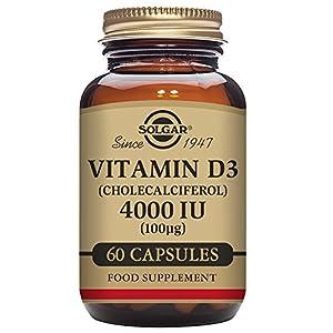 Solgar Vitamin D3 (Cholecalciferol) 4000 IU (100 µg) Vegetable Capsules – Pack of 60