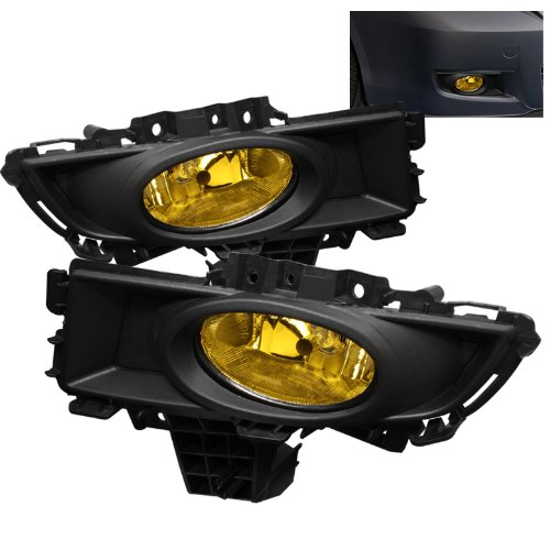 Preisvergleich Produktbild Spyder Auto 5020772 Nebelscheinwerfer Schwarz / Gelb