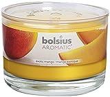 bolsius 8717847086044 Duftglas, Wachs, Mango, 6,3 x 9 cm