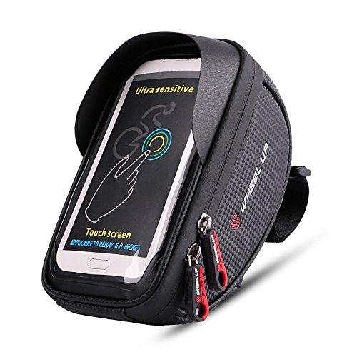 Universal wasserdichtes Fahrrad-Paket, vorderer Schlauch-Oberseiten-Touch Screen im Freiensport-Fahrrad-Satz für 5.5-6 Zoll iphone7p, Samsung S8, Huawei …