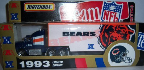 chicago-bears-1993-ford-aeromax-tractor-trailer-nfl-diecast-matchbox-truck-car-collectible-by-nfl