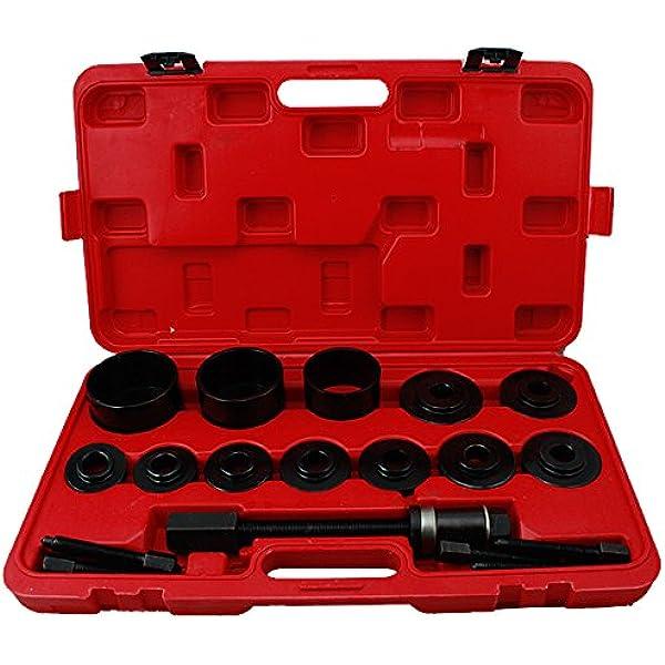 Bmot Radlager Werkzeug Abzieher Set Vw Audi Opel Fiat Bmw Ford Alle Gängigen Radlagerabzieher Montage 26 Tlg Nein 1 Küche Haushalt