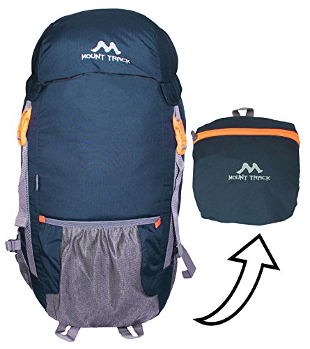 Mount Track 9303 Foldable Waterproof Travel, Hiking Backpack Rucksack Grey