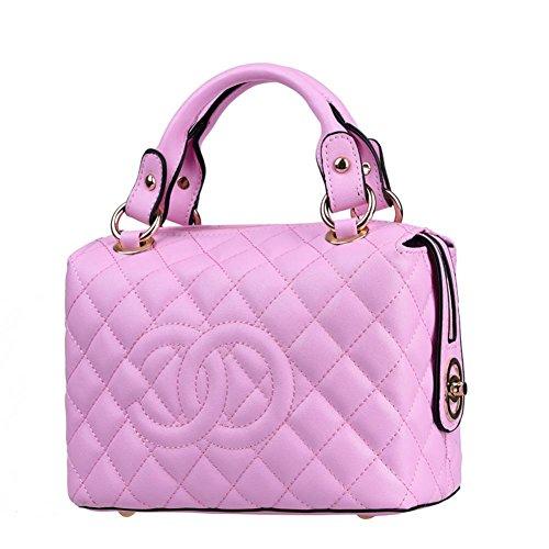 GBT Retro Schulter-Diagonalhandtaschen Handtaschen Pink