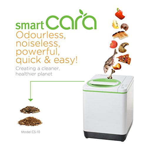 smart-cara-cs-10-food-waste-disposer-odourless-noiseless-powerful-and-easy-colour-green-and-white-gr