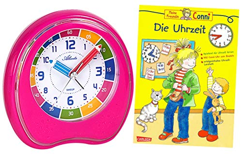 cken Mädchen Rosa mit Lernbuch Conni Buch Uhrzeit Lernen - 1953-17 BU ()