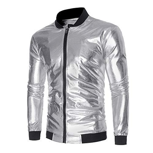Männer Herbst Winter Slim Fit Sport Jacket Strickjacke Jacke Langarm Helles Gesicht Gedruckt Party Jacke Outwear Top Bluse/Herren Zip Neck Sweat Sweatshirt - Zip Gesicht Kostüm