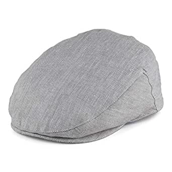 f20588779 Failsworth Hats Irish Linen Flat Cap - Light Grey Medium: Amazon.co ...